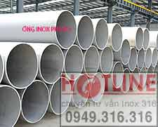 ỐNG INOX ĐÚC, HÀN INOX 304, 316  PHI 273 MM