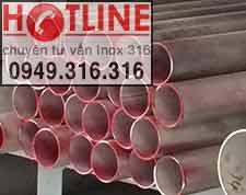 ỐNG INOX 304 - 34.0 mm, Bảng Giá Ống inox 304 phi 34