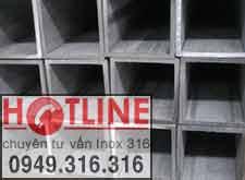 VUÔNG HỘP INOX 304 - 60 x 60 mm