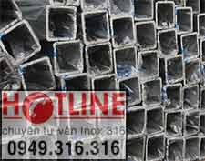VUÔNG INOX 304 - 40 x 40 mm, BẢNG GIÁ VUÔNG INOX 201 - 40 x 40 mm