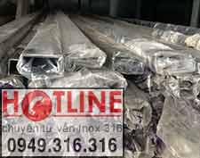 HỘP INOX 304 - 25 x 50 mm, Bảng Giá Hộp inox 201 chữ nhật 25 x 50 mm