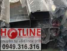 HỘP INOX 304 - 10 x 20 mm , BẢNNG GIÁ HỘP INOX 201 - 10 x 20 mm
