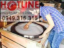 Mặt bích inox 304, 316  Hệ DN250 DIN PN16, PN6, PN10, PN16, PN25, PN40