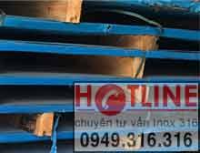 Tấm inox chịu nhiệt SUS409L,SUH409L