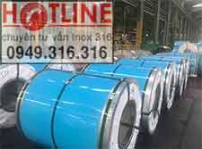 Cuộn inox 430 No.1-Độ dày: 2,3,4,5,6,12mm