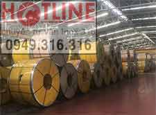 Cuộn inox 304, 316L, BA-Độ dày:0.3, 0.4,0.5, 0.6-0.7-0.8mm
