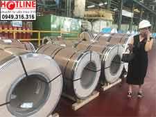 Cuộn inox Columbus 304,201, 316L 2B-Độ dày: 1-2-3-4mm-5mm-6mm