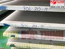 Tấm inox 304:304L dầy 20,22ly,25,30,40,50,60,70,80mm