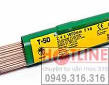 QUE HÀN TIG INOX T308: T308L,QUE HÀN TIG INOX T309L..